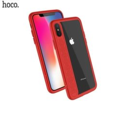 Hoco Premium Star Shadow Back Case Silicone Case for Apple iPhone X Red