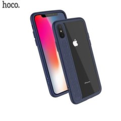 Hoco Premium Star Shadow Back Case Silicone Case for Apple iPhone X Blue