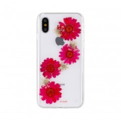 FLAVR Real 3D Flowers Paula Premium Ultra Thin Case With Hand Made Real Flowers For Apple iPhone X kaina ir informacija | Telefono dėklai | pigu.lt