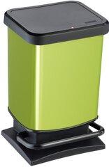 Šiukšlių dėžė su pedalu Rotho Paso, 20L, žalios (lime) sp.