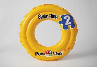 Pripučiamas plaukimo ratas Intex Deluxe Pool School™ Step 2, 51 cm