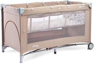 Maniežas-kelioninė lovytė Caretero Basic Plus, Beige