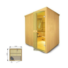 Suomiška sauna Harvia Variant S1212 kaina ir informacija | Saunos, pirties krosnelės | pigu.lt