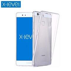 X-Level Ультра тонкий 0.78mm Силиконовый чехол-крышка с анти-скользкой и деликатной поверхностью для Huawei Y6 (2017) / Y5 (2017) Прозрачный