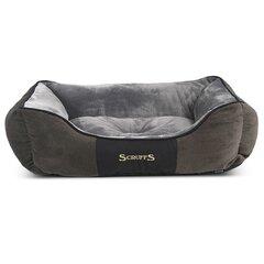 Scruffs & Tramps augintinio guolis Chester, XL, 90x70cm, pilkas 1170 kaina ir informacija | Guoliai, pagalvėlės | pigu.lt