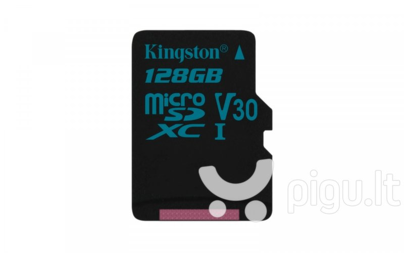 Atminties kortelė Kingston Canvas Go! micro SDXC 64GB