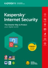 Kaspersky Internet Security Multi-Device 2018 pratęsimo licenzija (1 įreng.)