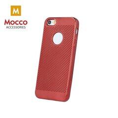 Apsauginė nugarėlė Mocco Luxury Silicone skirta Samsung A320 Galaxy A3 (2017), raudona kaina ir informacija | Telefono dėklai | pigu.lt