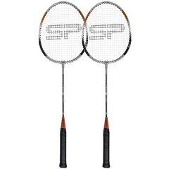 Badmintono rakečių rinkinys Spokey Fit One II, rudas kaina ir informacija | Badmintonas | pigu.lt