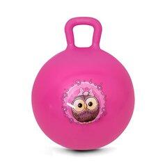 Šokinėjimo kamuolys Spokey Little Owl, 45 cm kaina ir informacija | Vandens, smėlio ir paplūdimio žaislai | pigu.lt