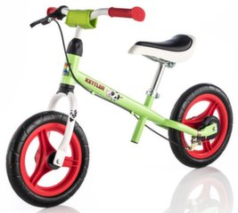 Dviratukas-paspirtukas Kettler SPEEDY 12.5'' EMMA green kaina ir informacija | Balansiniai dviratukai | pigu.lt