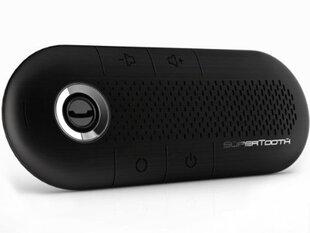SuperTooth CRYSTAL juoda Bluetooth laisvų rankų įranga