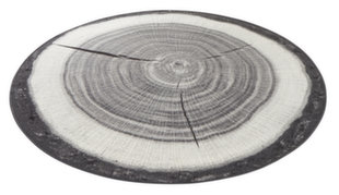 Hanse Home kilimas Bastia Special Tree Trunk Grey, 100x100 cm