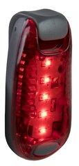 Galinis dviračio žibintas Dunlop LED kaina ir informacija | Dviračių priedai ir aksesuarai | pigu.lt