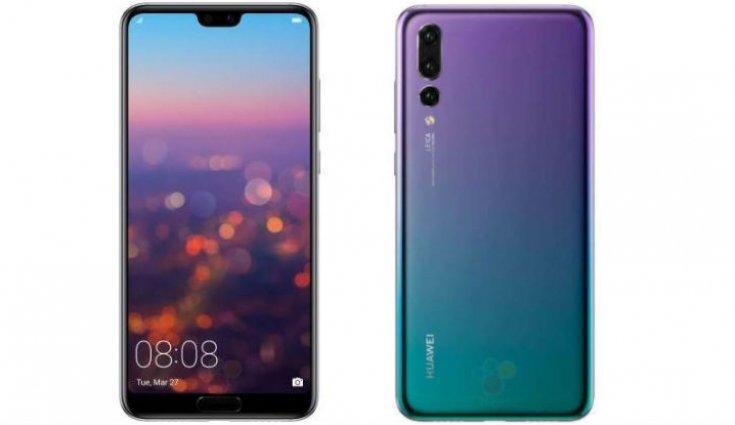 Huawei P20 Pro, 128 GB, Dual SIM, Violetinė kaina