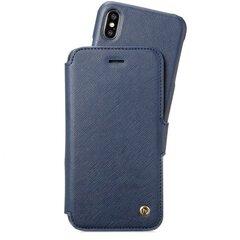 Holdit Wallet Case Stockholm Blue, skirtas iPhone X/Xs, mėlynas kaina ir informacija | Telefono dėklai | pigu.lt