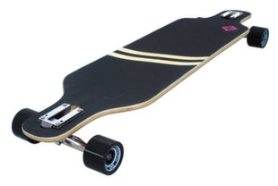 Riedlentė Street Surfing Longboard Freeride Drop Trough 39 - Stripes