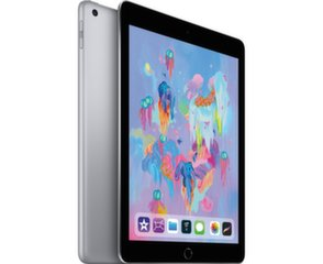"Apple iPad 9.7"" Wi-Fi+4G 128GB, Pilka, 6th gen, MR722HC/A"