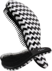 Щетка для волос Cala Tangle Free Hair Brush Black & White Zigzag