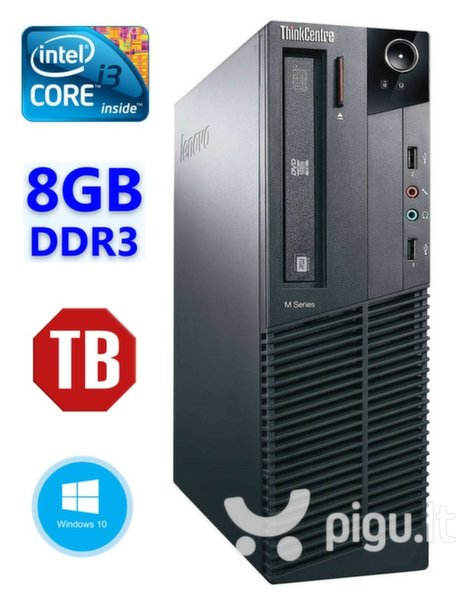 Lenovo ThinkCentre M82 SFF i3-3240 8GB 1TB DVD WIN10Pro