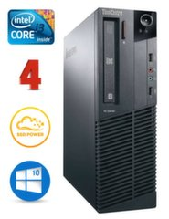Lenovo ThinkCentre M82 SFF i3-3240 4GB 120SSD DVD WIN10Pro
