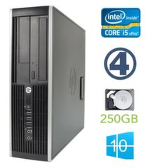 HP 8300 Elite SFF i5-3470 4GB 250GB DVDRW WIN10Pro