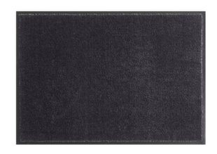 Hanse Home durų kilimėlis Soft & Clean Black, 140x200 cm