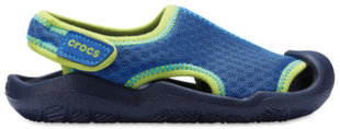 Crocs™ basutės Swiftwater Sandals, Blue Jean / Navy