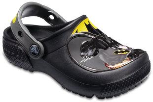 Crocs™ batai berniukams Fun Lab Batman™ Clogs, Black