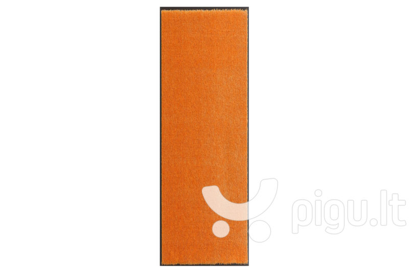 Hanse Home durų kilimėlis Soft & Clean Orange, 75x120 cm