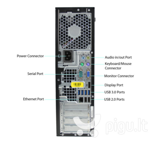 HP 8300 Elite SFF i5-3470 8GB 500GB DVDRW WIN10Pro
