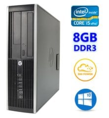 HP 8300 Elite SFF i5-3470 8GB 120SSD DVDRW WIN10Pro