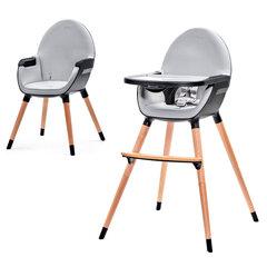 Maitinimo kėdutė Kinderkraft 2 in 1 Fini, juoda kaina ir informacija | Maitinimo kėdutė Kinderkraft 2 in 1 Fini, juoda | pigu.lt