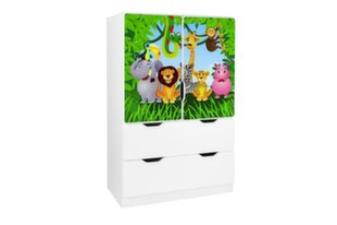 Lentyna Ami su durelėmis 1, 45x80x125 cm kaina ir informacija | Vaiko kambario baldai | pigu.lt