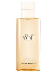 Dušo želė Giorgio Armani You Because It`s You moterims 200 ml