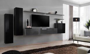 Sekcija Switch I, juoda/pilka kaina ir informacija | Sekcijos | pigu.lt