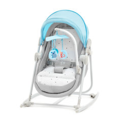 Gultukas - sūpynės KinderKraft 5 in 1 Unimo, light blue