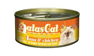 Konservai katėms Aatas TANTALIZING TUNA&CHICKEN, 80 g