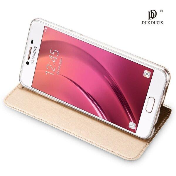 Telefono dėklas Dux Ducis Premium Magnet Case, skirtas Huawei P20, auksinis pigiau