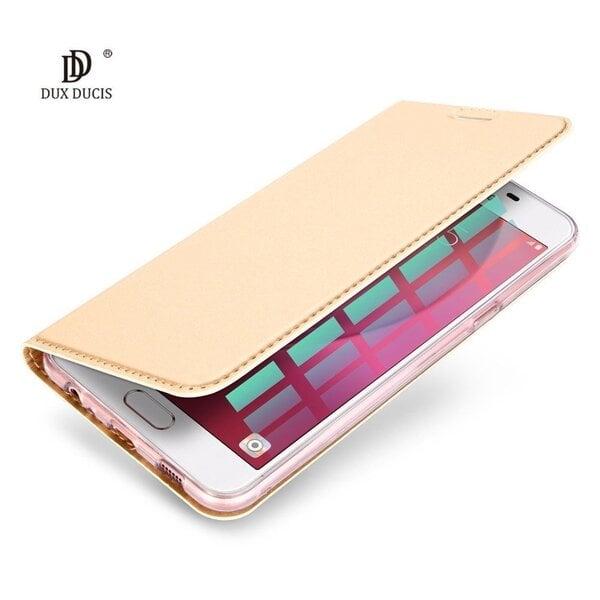 Telefono dėklas Dux Ducis Premium Magnet Case, skirtas Huawei P20, auksinis kaina