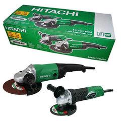Elektrinių kampinių šlifuoklių rinkinys Hitachi G23SW2+G13SR4