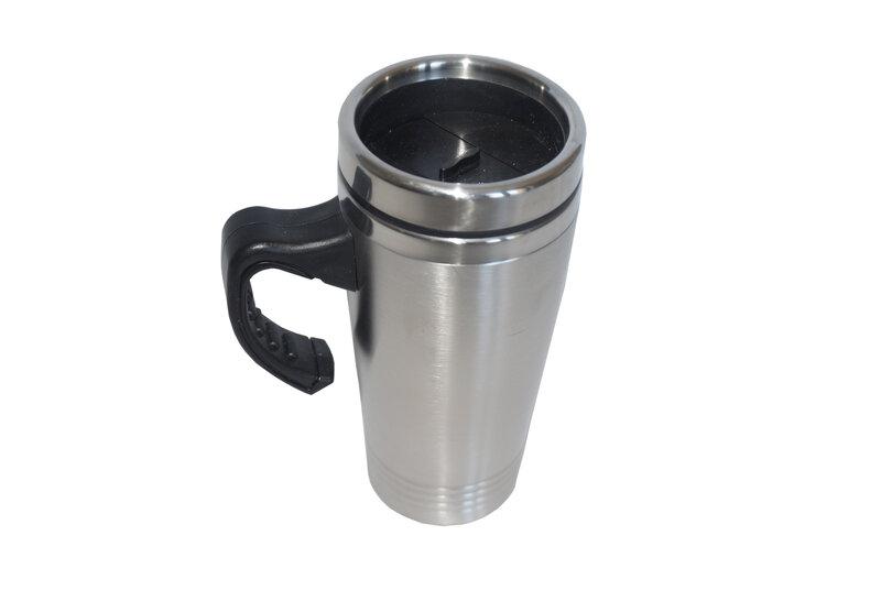 Termosinis puodelis, 0.45 l, sidabrinis