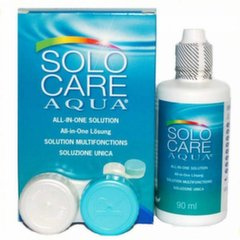 Tirpalas SOLO CARE AQUA 90 ml 1