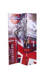 2-jų širmų komplektas PAR2 UK, raudonas kaina ir informacija | Prieškambario baldai | pigu.lt