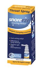Priemonė nuo knarkimo Snoreeze purškiama į burną 23.5 ml kaina ir informacija | Slaugos prekės | pigu.lt