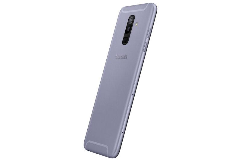 Samsung Galaxy A6 Plus (2018), 32 GB, Dual SIM, Pilka internetu