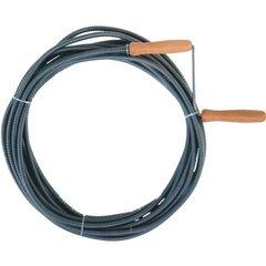 Kanalizacijos vamzdžių valymo spiralė 10 mm x 10 m kaina ir informacija | Mechaniniai įrankiai | pigu.lt