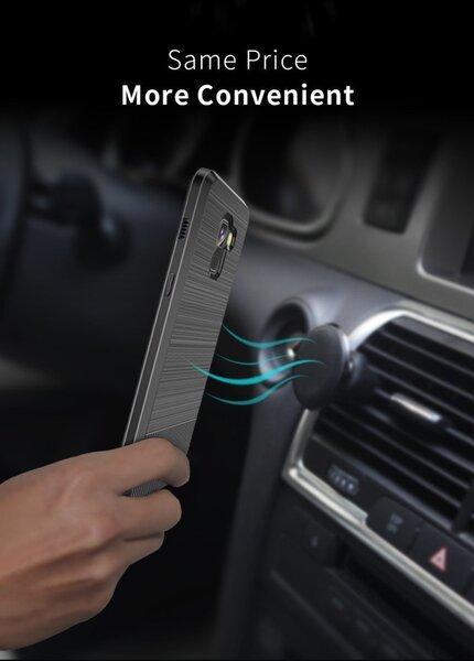 Apsauginė nugarėlėDux Ducis Mojo, skirta Samsung G965 Galaxy S9 Plus telefonui, juoda
