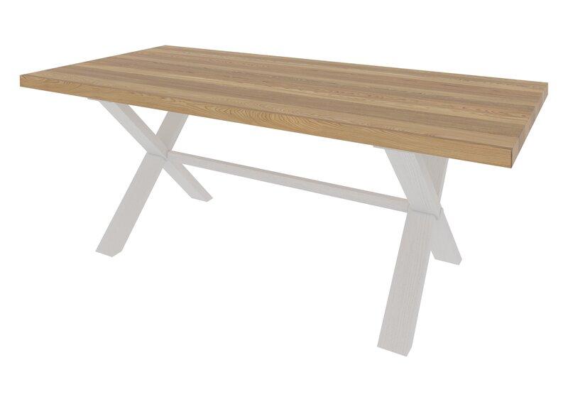 Stalas Loftas 6, natūrali ąžuolo spalva