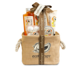 Набор для ванны IDC Institute Ecotherapy Mango & Papaya Basket